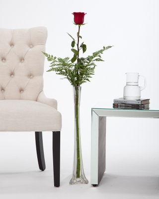 Enter to win this gorgeous red rose from Polly Becks!